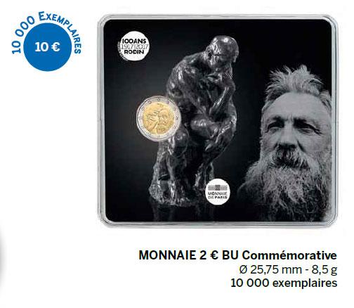 Monnaie 2 € BE Commémorative