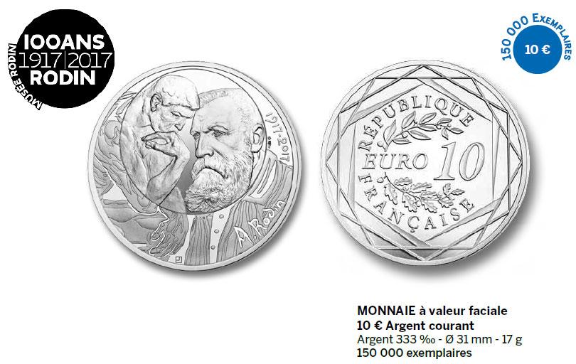 Monnaie à valeur faciale 10 € Argent courant