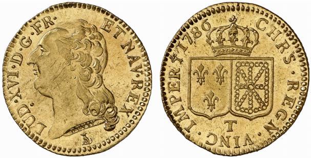 Louis d'or de Louis XVI