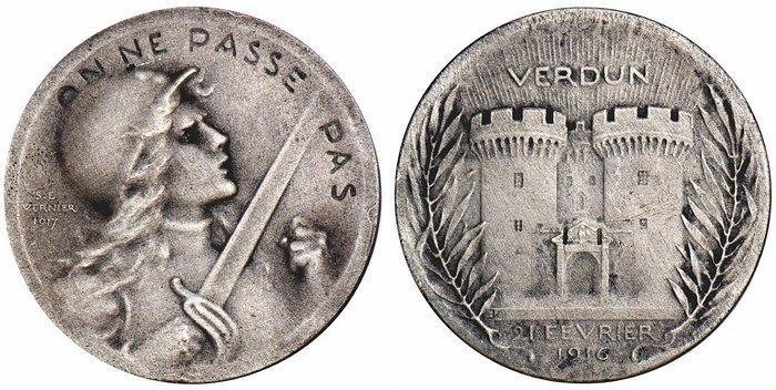 Médaille du jour : Verdun,