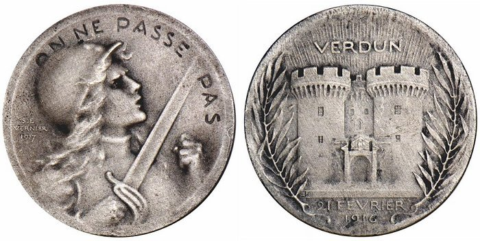 M�daille du jour : Verdun,