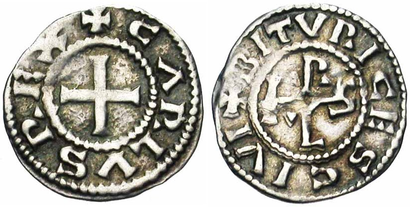 Monnaie de Charles le Chauve