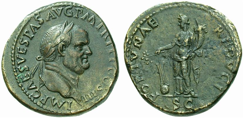 Sesterce de Vespasien