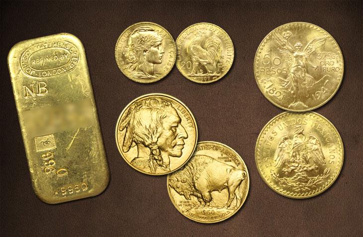 Pièces d'or et lingots : Quelques produits d'investissement