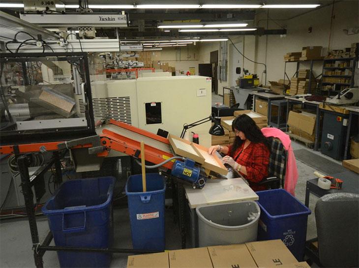 L'usine Air-Tite est équipée de machines outil dernier cri
