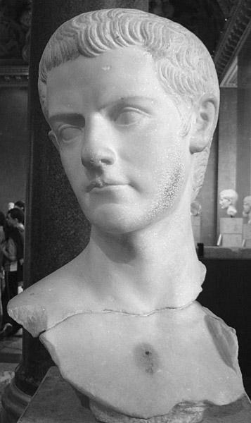 Buste de Gaius Caligula, 37-41 ap. J.-C.