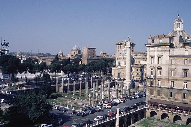 Le Forum de Trajan : état actuel. Photos © Kalermo Koskimies
