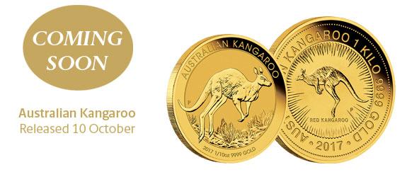 Photo des nouvelles pièces d'or d'investissement d'Australie 2017
