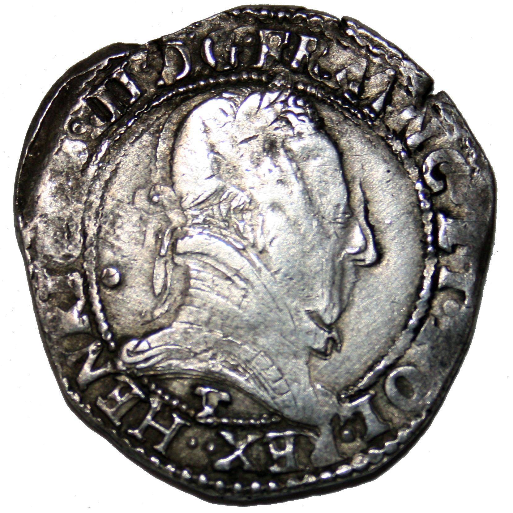 Monnaie tréflée d'Henri III (1574-1589)