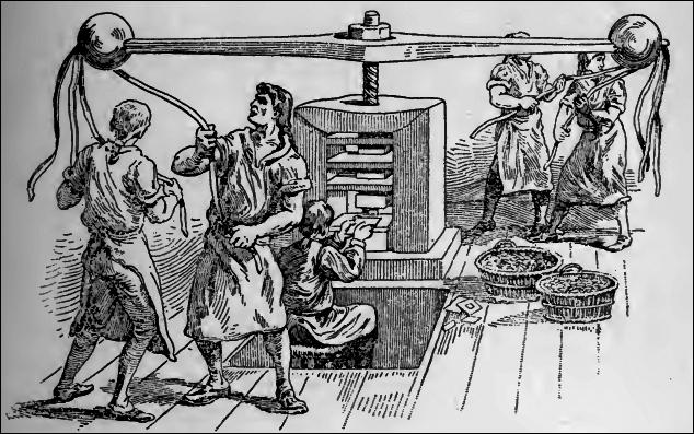 Image de la frappe au balancier sous Louis XV