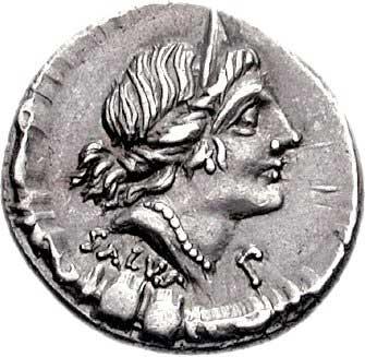 La Santé sur un denier romain