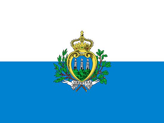 Drapeau de Saint-Marin