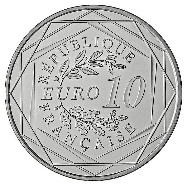 10 euro Hercule 2012 revers