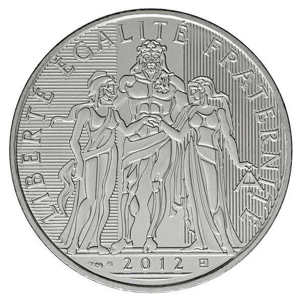10 euro Hercule 2012