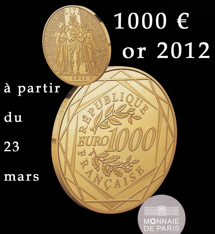 1000 euro or 2012