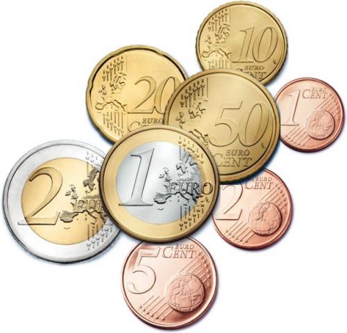 Quelques pièces en euro