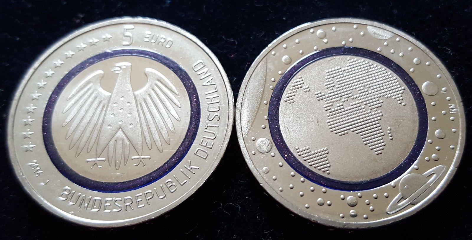 Photo de la pièce de 5 euro Allemagne 2016