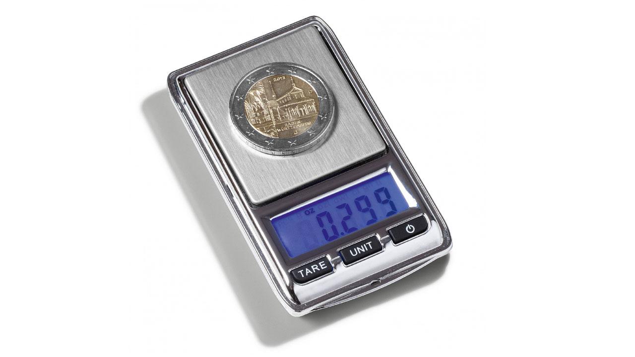 Balance digitale de précision pour peser les pièces de monnaie