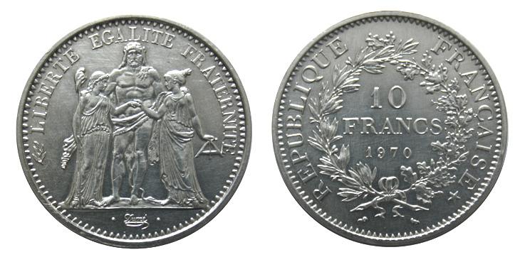 10 francs argent