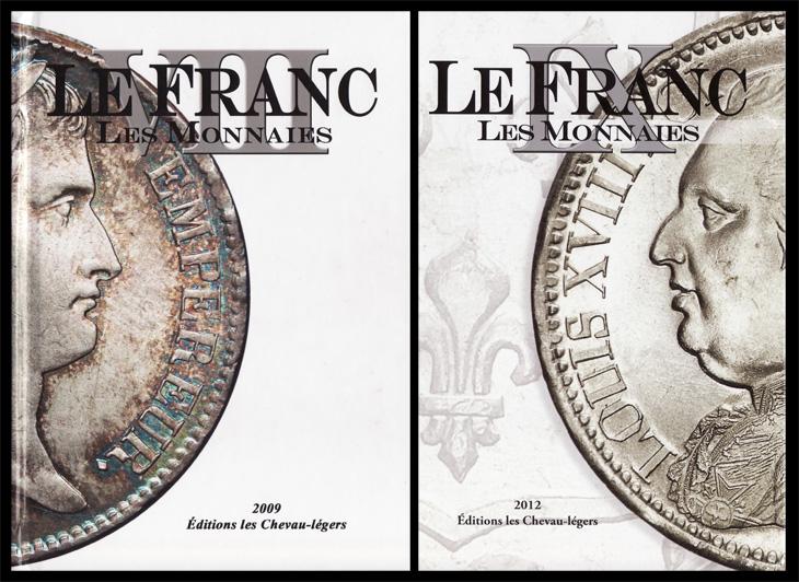 Couvertures de l'Ancien Franc et du Nouveau Franc