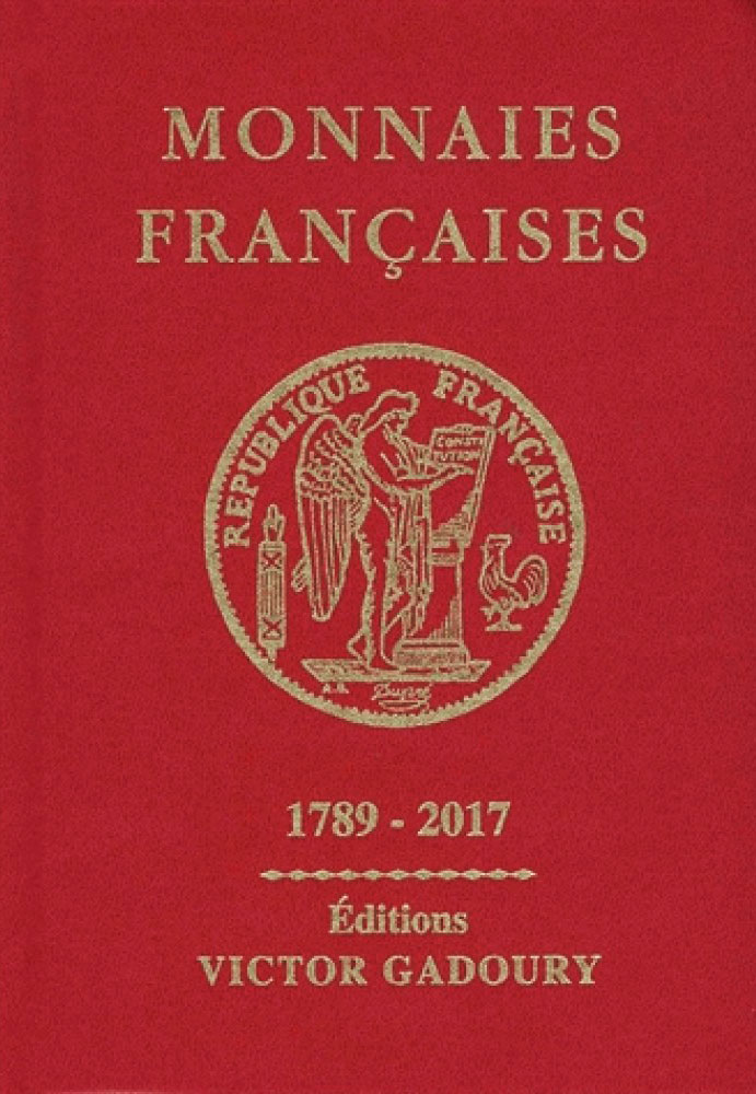 Couverture du catalogue de cotations Gadoury rouge