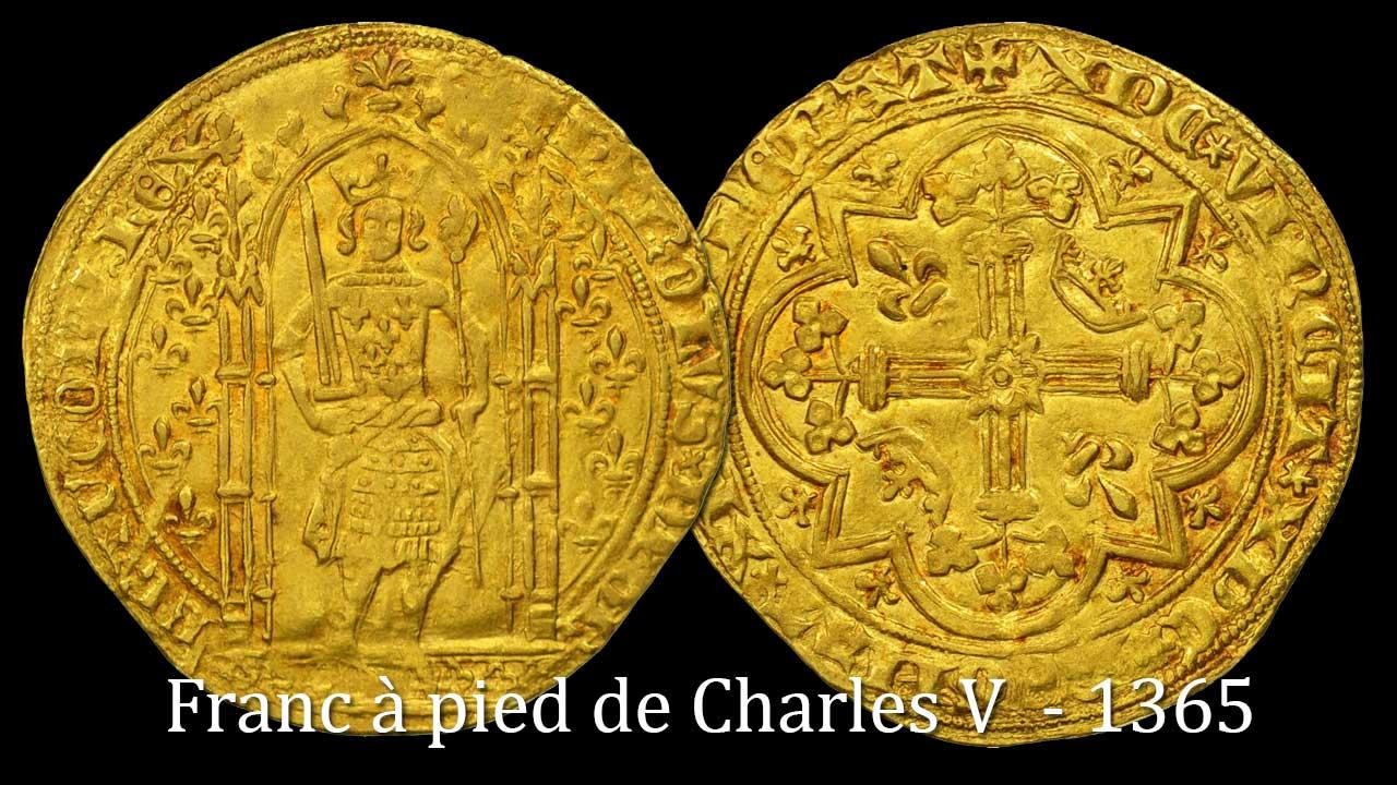 Franc à pied de Charles V