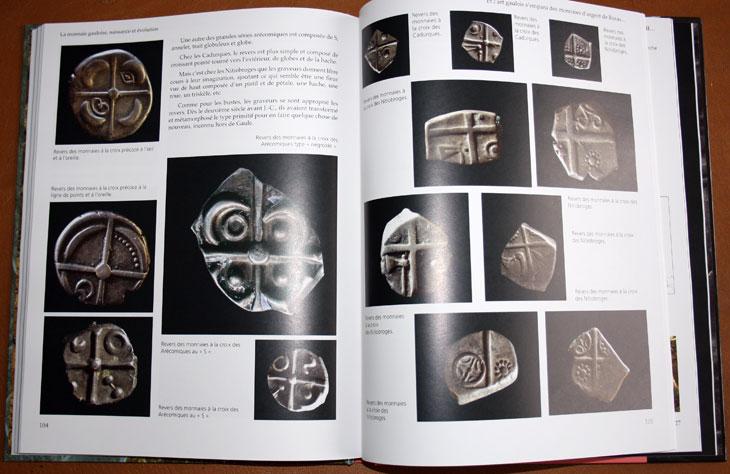 Exemple de pages La monnaie gauloise de George Depeyrot