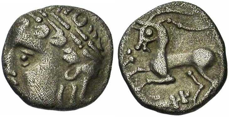 Monnaie gauloise : drachme Allobroges