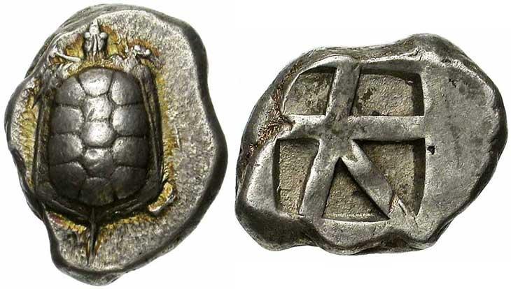 Monnaie grecque d'Egine