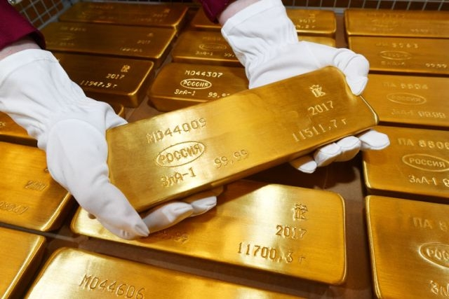 Lingot d'or de 12 kilos