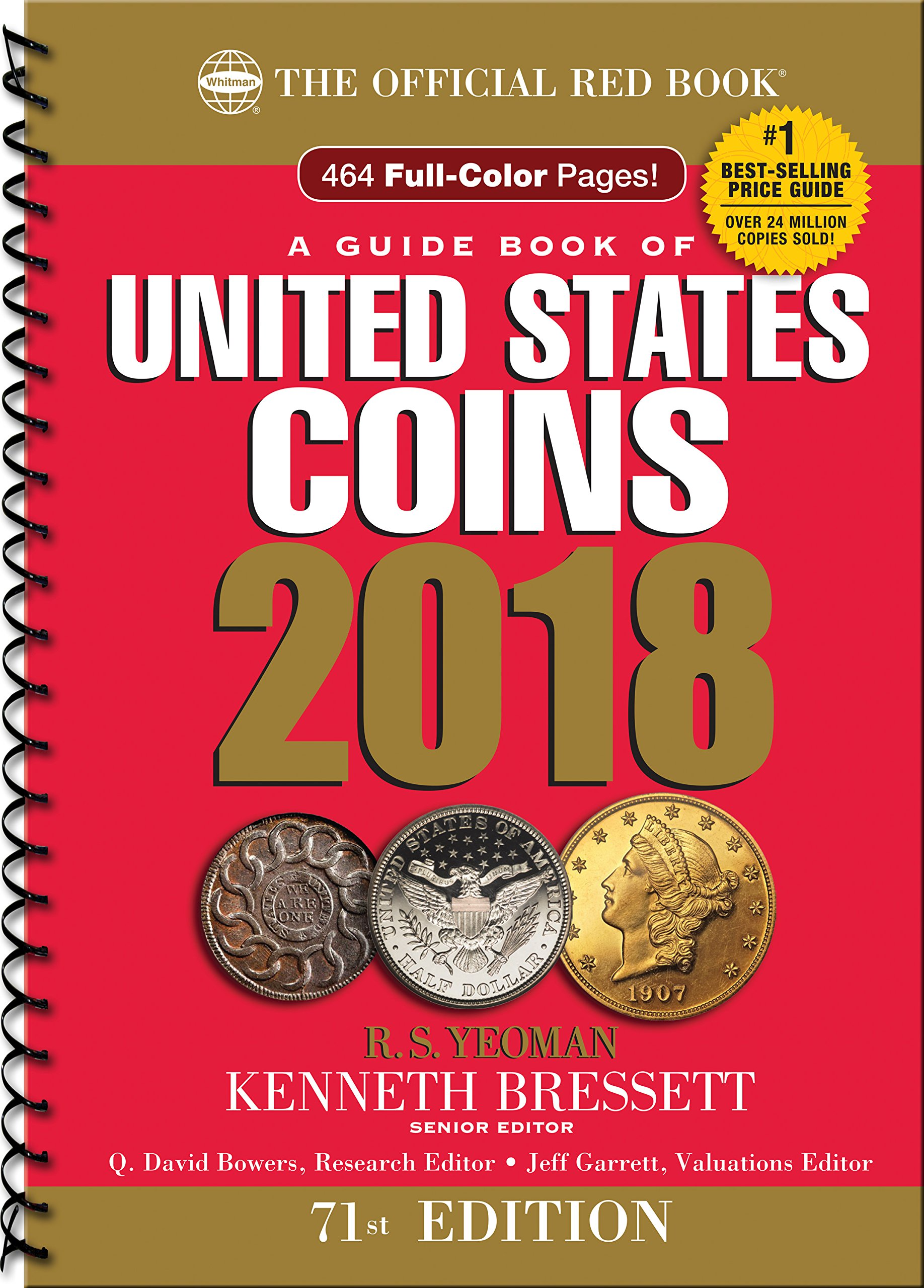 Couverture du Red Book, le catalogue de référence sur les monnaies américaines