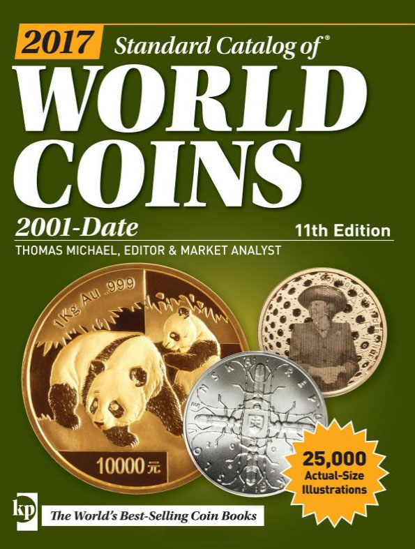 Couverture du Standard Catalogue of World coins