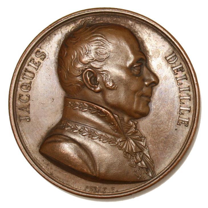 Portrait de Jacques Delille dans la Galerie métallique des Grands hommes
