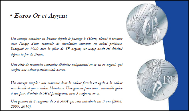Catalogue 2008 de la Monnaie de Paris