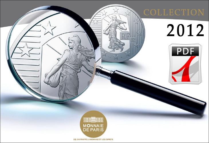 Catalogue 2012 de la Monnaie de Paris