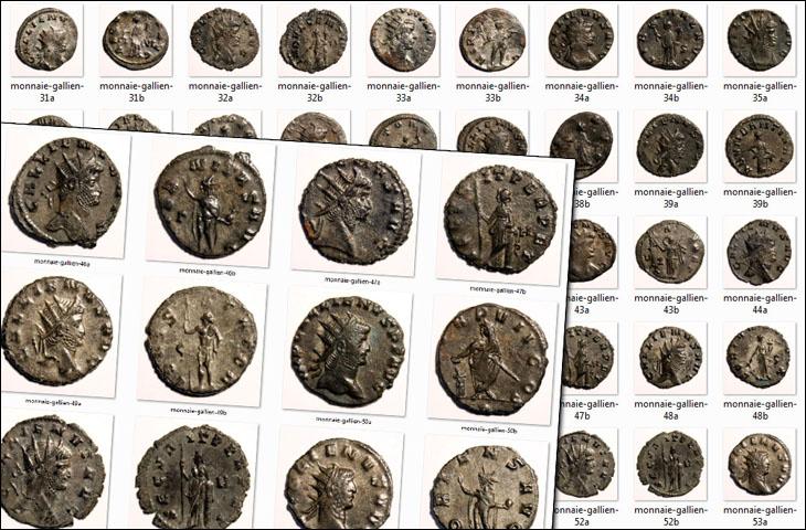 Quelques monnaies de Gallien
