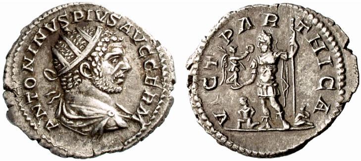 Antoninien de Caracalla