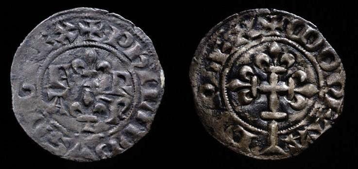 Double tournois de billon de Philippe VI