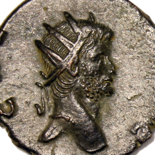 Portrait de Gallien sur un antoninien