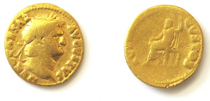 Aureus (pièce d'or) de Néron
