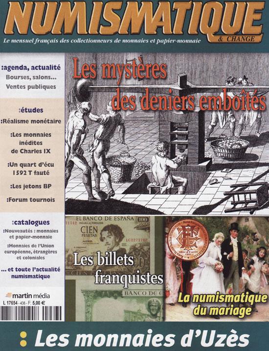 Numismatique et Change Magazine, numero 436 mars 2012