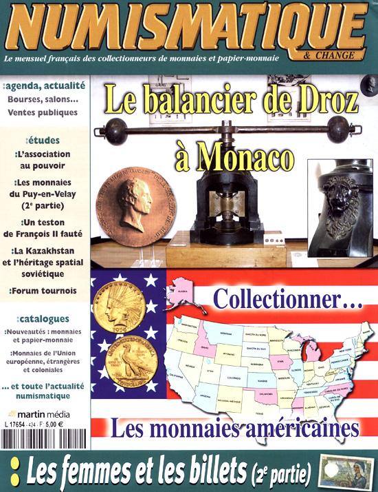 Numismatique et Change Magazine, n°424 mars 2011