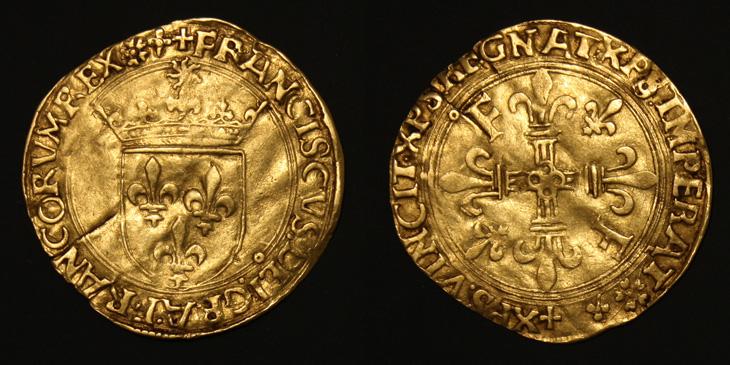 Ecu d'or au soleil de François Ier