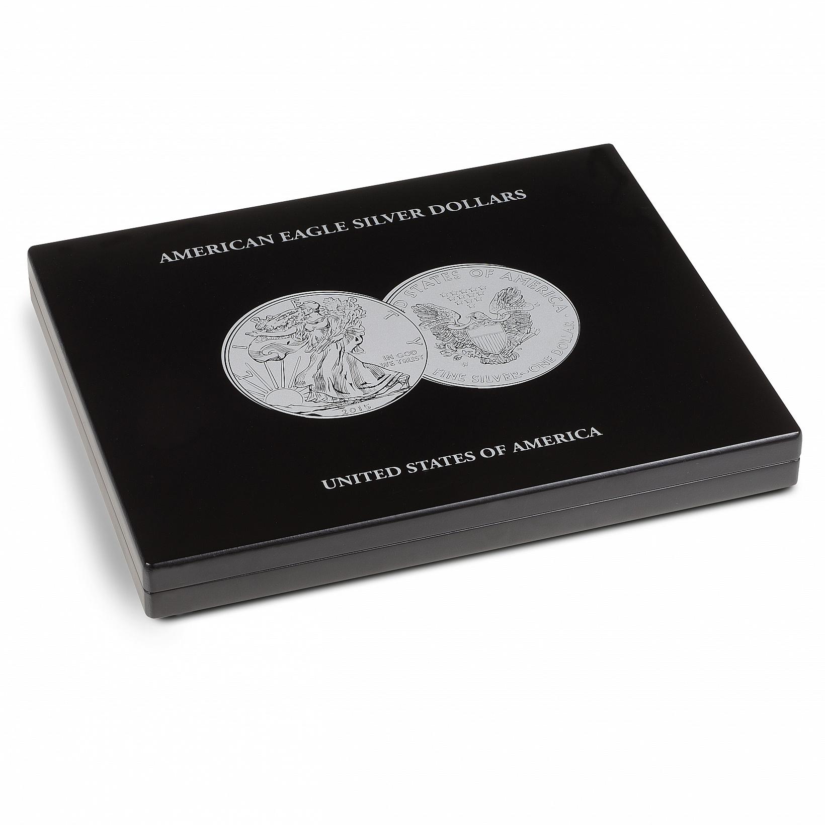 Coffret pour pièces argent American Silver Eagle