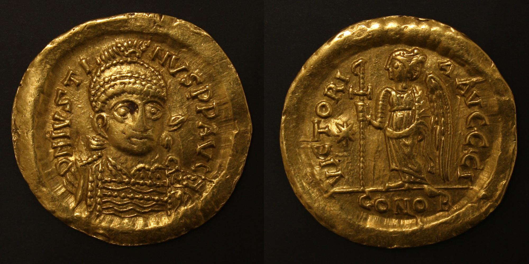 Solidus (monnaie d'or de Justin I)