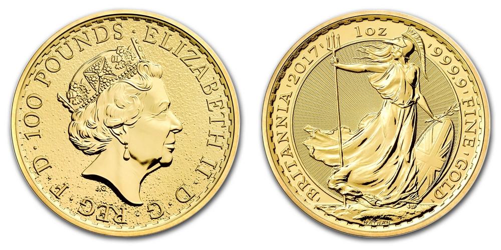 Pièce or Royaume-Uni 1 once Gold Britannia