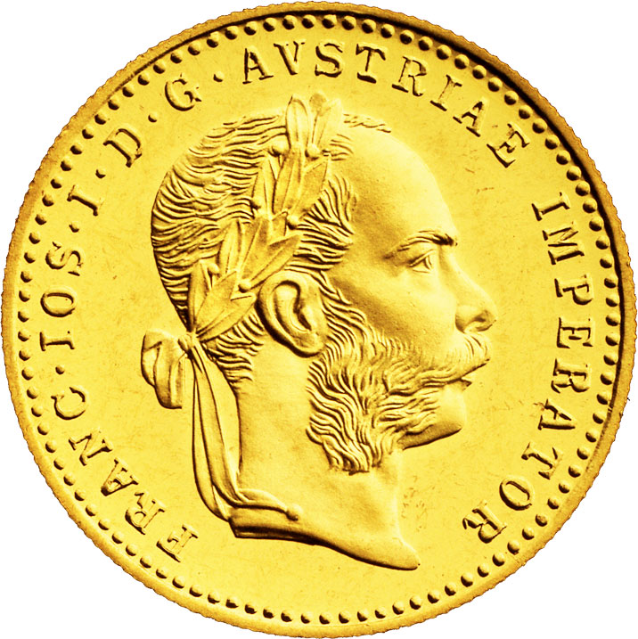1 ducat d'or Autriche avers