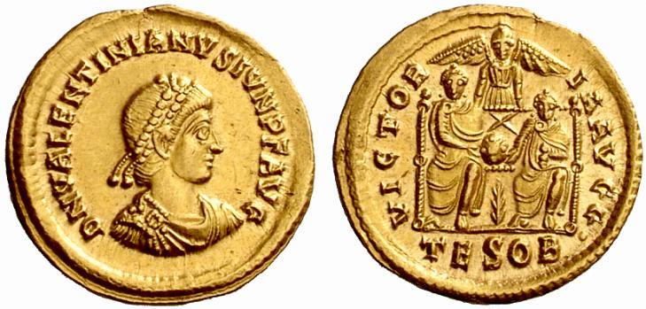 Solidus de Valentinien II