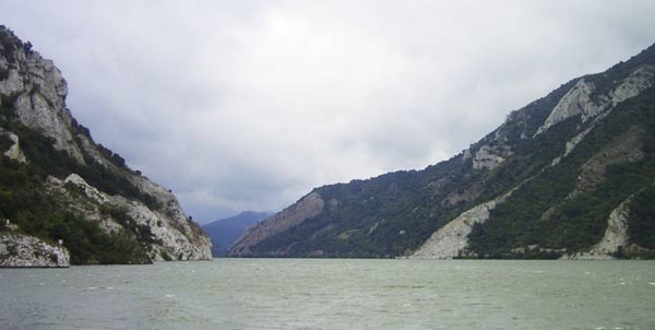 Photo du Danube au niveau des