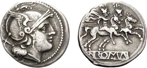 Le premier denier romain
